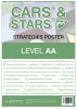 CARS & STARS Plus Strategies Poster: Level AA