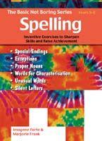 Basic Not Boring Series: Spelling 5-8