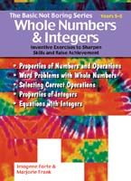 Basic Not Boring Series: Whole Numbers and Integers 5-8