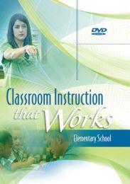 Classroom Instruction That Works DVD: Elementary School
