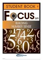 Focus on Maths: Building Number Sense - Student F (Set of 5)