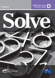 Solve Series D Student Book (Set of 5)