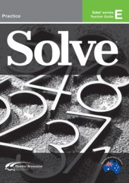 Solve Series E Teacher Guide