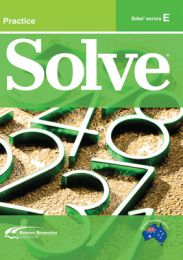 Solve Series E Student Book (Set of 5)