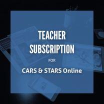 CARS & STARS Online: Teacher Subscription