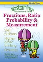 Masterminds Riddle Maths: Fractions, Ratio, Probability & Measurement Years 5-8