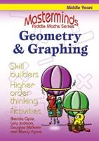 Masterminds Riddle Maths: Geometry & Graphing Years 5-8