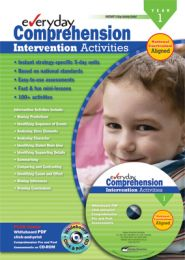Everyday Comprehension Intervention Activities: Years 1-2