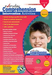 Everyday Comprehension Intervention Activities: Years 4-5