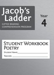 Jacob's Ladder Student Workbook: Year 4, Poetry, 2nd Edition