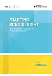 ASCD Arias Publication: Starting School Right