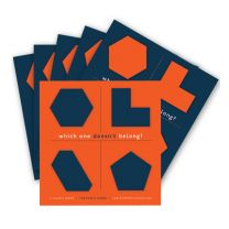 Which One Doesn't Belong? A Shapes Book (Set of 5) and Teacher's Guide (Teacher's Bundle)