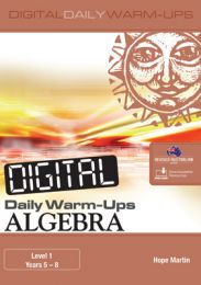 Digital Daily Warm-Ups: Algebra Level 1 – Years 5–8