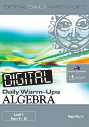 Digital Daily Warm-Ups: Algebra Level 2 - Years 9-12