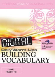 Digital Daily Warm-Ups: Building Vocabulary Level 2 – Years 9–12
