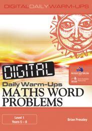 Digital Daily Warm-Ups: Maths Word Problems Level 1 -Years 5-8