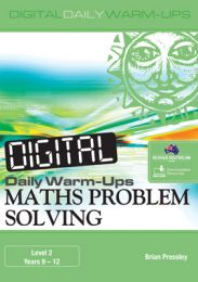 Digital Daily Warm-Ups: Maths Problem-Solving Level 2 - Years 9-12
