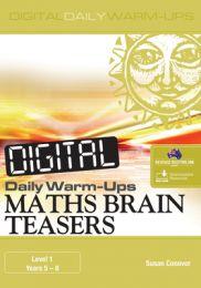 Digital Daily Warm-Ups: Maths Brain Teasers Level 1 - Years 5-8