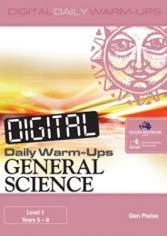 Digital Daily Warm-Ups: General Science Years Level 1 – Years 5–8