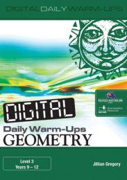 Digital Daily Warm-Ups: Geometry Level 3 - Years 9-12