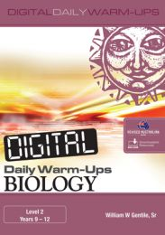 Digital Daily Warm-Ups: Biology Level 2 – Years 9–12