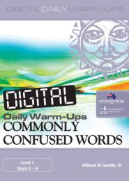 Digital Daily Warm-Ups: Commonly Confused Words Level 1 – Years 5–8