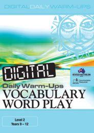 Digital Daily Warm-Ups: Vocabulary Word Play Level 2 – Years 9–12