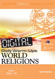 Digital Daily Warm-Ups: World Religions Level 2 – Years 9–12
