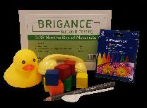 Brigance: Screens III Box of Materials (0-35 months)