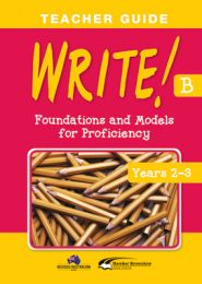 WRITE! Teacher Guide B (Years 2-3)