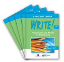 WRITE! Student Book C (Years 3-4): Set of 5