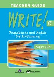 WRITE! Teacher Guide C (Years 3-4)