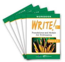 WRITE! Student Workbook D (Years 4-5): Set of 5