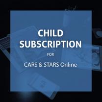 CARS & STARS Online: Child Subscription