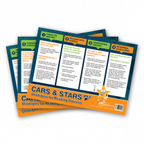 Posters: CARS & STARS - 12 Reading Strategies - A3