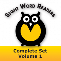 Sight Word Readers Complete Set Volume 1 Set of 12