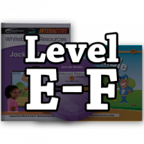 Rising Readers Levels E-F IWB Bundle