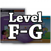 Rising Readers Levels F-G IWB Bundle