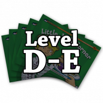 Rising Readers Levels D-E Books Only Bundle