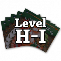 Rising Readers Levels H-I Books Only Bundle