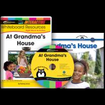Sight Word Readers: At Grandma's House (IWB Set)