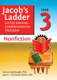 Jacob's Ladder Gifted Reading Comprehension Program: Nonfiction Year 3