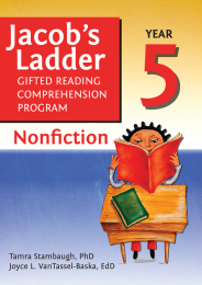 Jacob's Ladder Gifted Reading Comprehension Program: Nonfiction Year 5