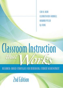 Classroom Instruction That Works, 2nd Edition