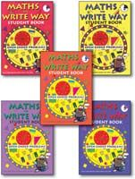 Maths The Write Way Student Mixed Pack Books 1-5