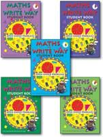 Maths The Write Way Student Mixed Pack Books 4-8