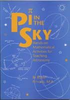 PI in the Sky: Hands-on Mathematical Activities for Teaching Astronomy