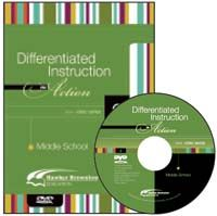 Differentiated Instruction in Action 2 Middle School DVD