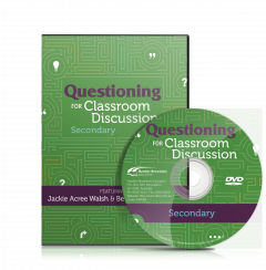 Questioning for Classroom Discussion-—Secondary School (DVD)