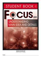 Focus on Reading: Understanding Main Idea and Details - Student Book C (Set of 5)